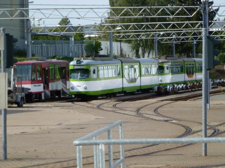 trams trains in deutschland gotha On depot gotha