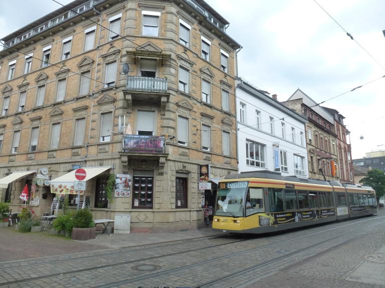 Trams Trains In Karlsruhe Deutschland Stra Enbahn