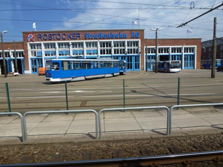 Trams Trains In Deutschland Rostock